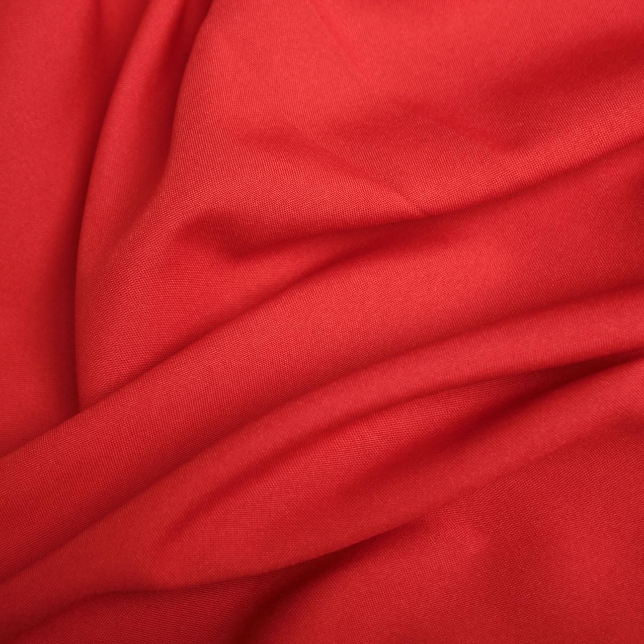 Костюмная ткань габардин красный