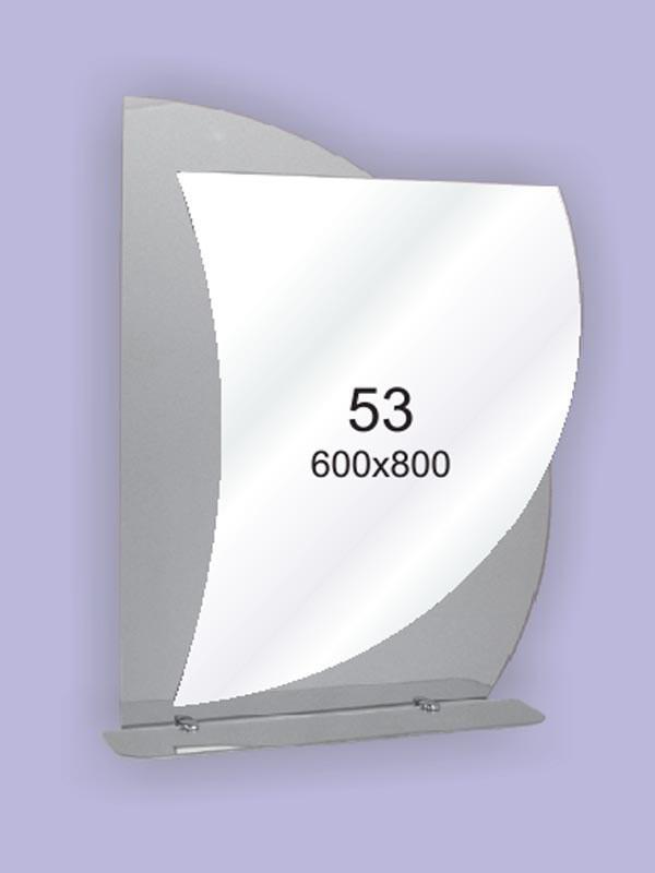 Зеркало для ванной комнаты 600х800 Ф53
