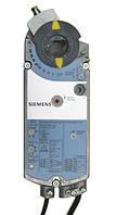 Электропривод SIEMENS cерии GCA121.1E, 2-точечный, раб. напряжение 24В, время сраб. 90 с.