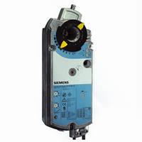 Электропривод SIEMENS cерии GMA161.1E, модулирующий DC 0...10В, раб. напряжение 24В, время сраб. 90 с.