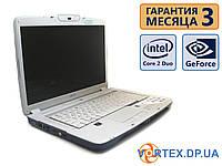Ноутбук Acer Aspire 5920 15.4 (1280x800) / Intel Core 2 Duo T5450 (2x1.66GHz) / GeForce 8600M / RAM 3Gb / HDD 160Gb / АКБ 0 мин. / Сост. 8.5, фото 1