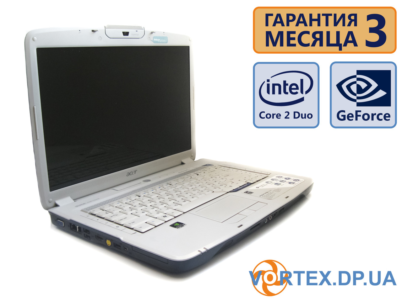 Ноутбук Acer Aspire 5920 15.4 (1280x800) / Intel Core 2 Duo T5450 (2x1