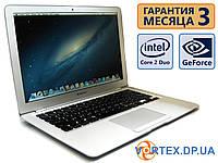 Ноутбук Apple Air  A1304 OS X 13.3 (1280x800) / Intel Core 2 Duo (2x1.86GHz) / GeForce 9400M / RAM 2Gb / HDD 120Gb / АКБ 1.5 ч. / Сост. 9.5, фото 1