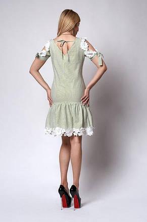 Очень красивое женское летнее платье с кружевом 44-48, фото 3