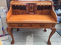 Старинный письменный стол бюро секретер креденс сервант комод