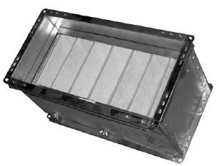 Кассета для фильтра Веза Канал-ФКП-40-20-G4 (карманный)