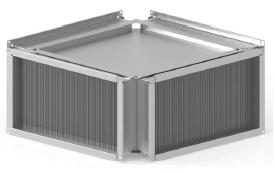Теплоутилизатор канальный пластинчатый ССК ТМ C-PKT-50-25