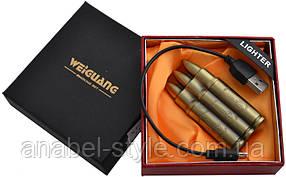 Подарочная USB зажигалка пуля №4518 Код 117895
