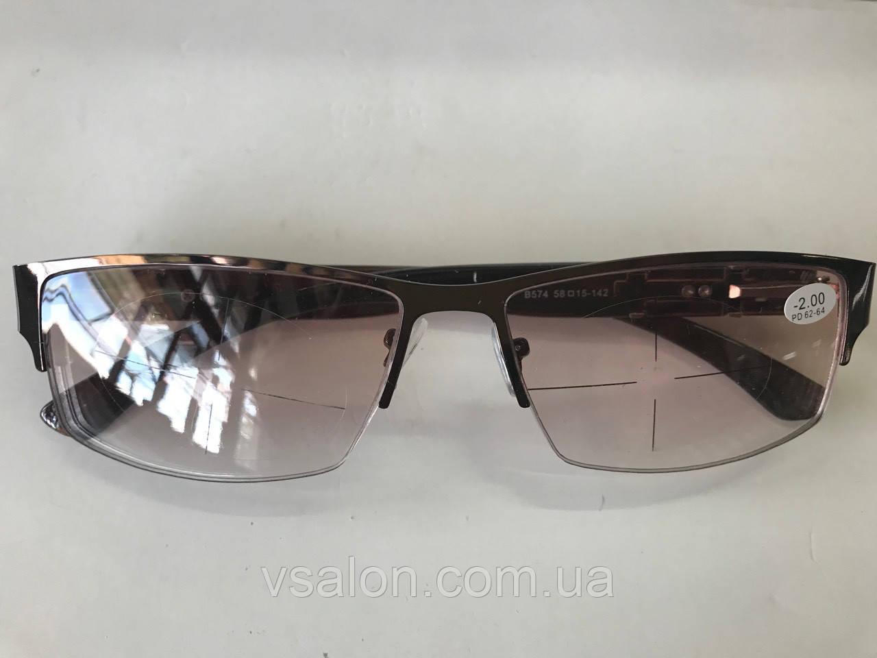 Очки с диоптриями мужские 574