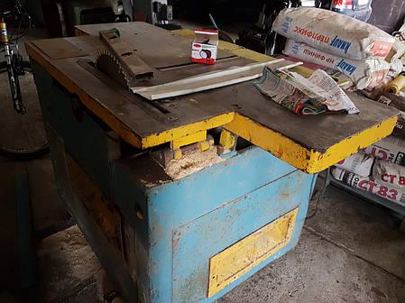 Станок комбинированный фуганок циркулярка б.у/пильно-строгальный станок, фото 2