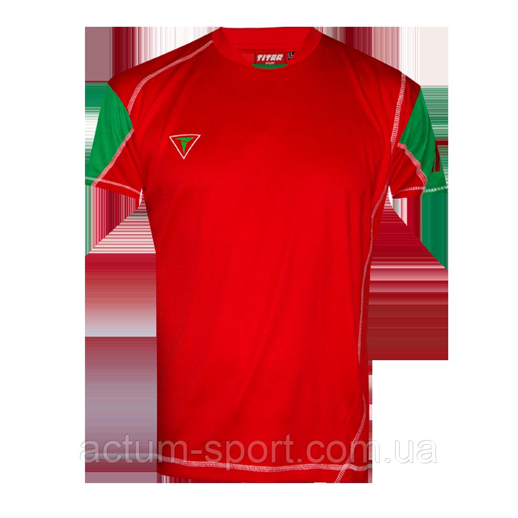 Футболка игровая Comfort Titar Красно/зеленый, XXL