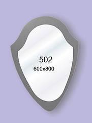 Зеркало для ванной комнаты 600х800 Ф502