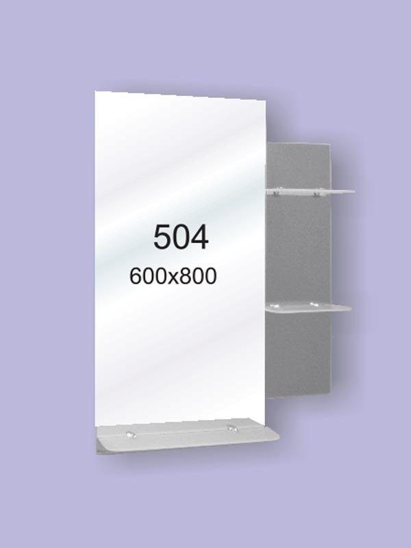 Зеркало для ванной комнаты 600х800 Ф504
