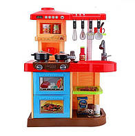Кухня детская большая игровая Doris 77155 (интерактивная кухня, кухня для детей)