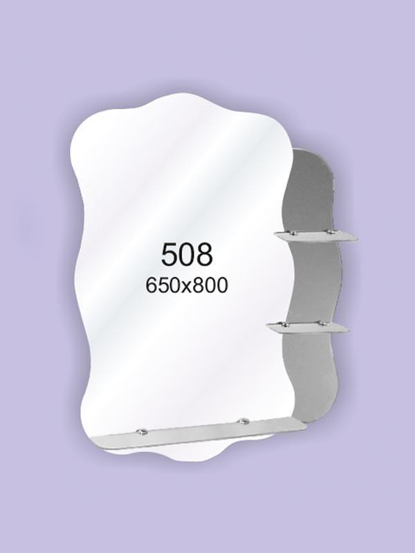 Зеркало для ванной комнаты 650х800 Ф508