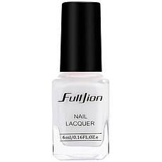 FullJion Лак для защиты кутикулы снимаемый Peel OFF Nail Skin Protector 6ml Белый, фото 2