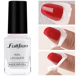 FullJion Лак для защиты кутикулы снимаемый Peel OFF Nail Skin Protector 6ml Белый