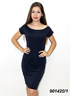 Легкое летнее платье, однотонное  42 44 46 48, фото 1