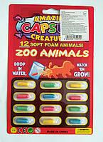 """Капсула с животным, растущая в воде! Серия """"Африканские животные"""" ( цена за 1 шт.капсулу), фото 1"""