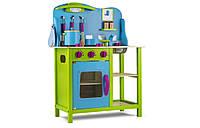 Кухня детская игровая деревянная Tobi Toys 04 (интерактивная кухня кухня для детей), фото 1