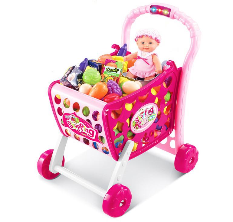 Детская тележка для покупок Shantou