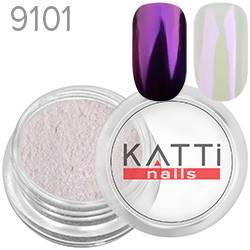 KATTi Пигмент в баночке 3ml Pearl 9101 purple, фиолетовый перламутр, фото 2