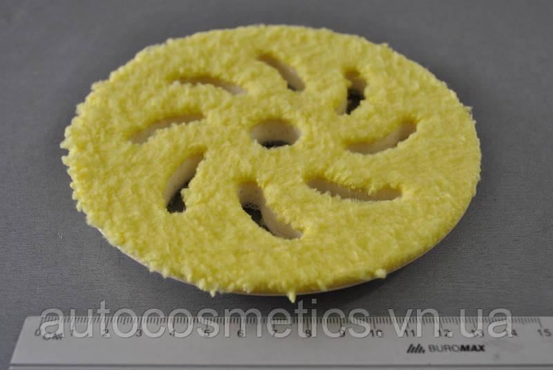 Полировальный круг из микрофибры RUPES Ø 130/150мм FINE, желтый