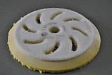 Полировальный круг из микрофибры RUPES Ø 130/150мм FINE, желтый, фото 2