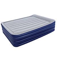 Надувная кровать со встроенным насосом Bestway 67528 (203х152х56 см)