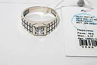 Мужское серебряное кольцо 14691-Ч