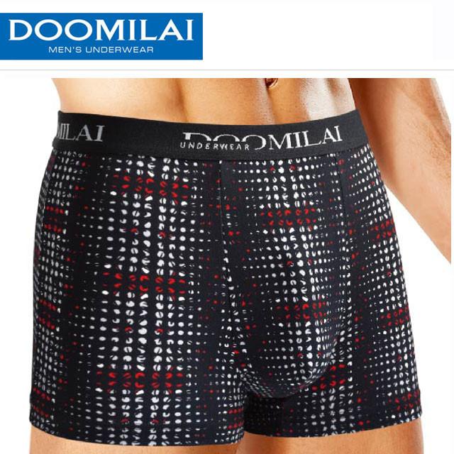 Мужские боксеры стрейчевые из бамбука  Марка  «DOOMILAI» Арт.D-01112