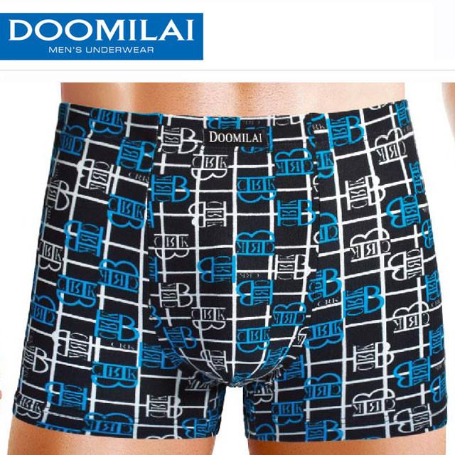 Мужские боксеры стрейчевые из бамбука  Марка  «DOOMILAI» Арт.D-01113