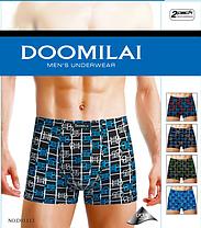 Мужские боксеры стрейчевые из бамбука  Марка  «DOOMILAI» Арт.D-01113, фото 3
