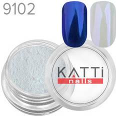 KATTi Пигмент в баночке 3ml Pearl 9102 blue, синий перламутр