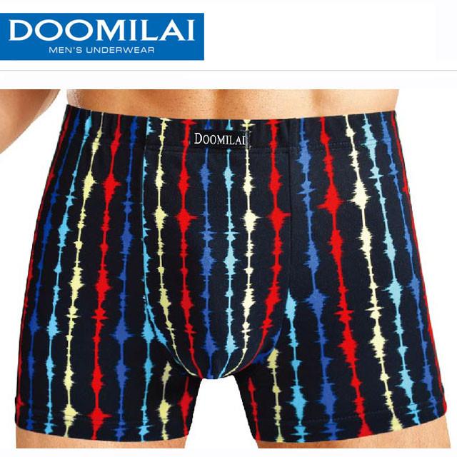 """Чоловічі стрейчеві боксери з бамбука марка """"DOOMILAI"""" Арт.D-01116(3XL,4XL)"""