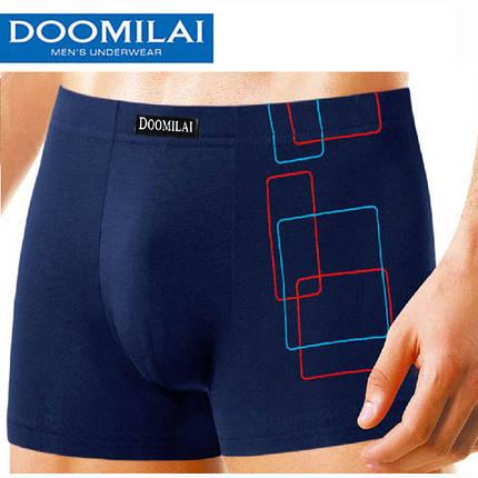 """Мужские боксеры стрейчевые марка """"DOOMILAI"""" Арт.D-02017, фото 2"""