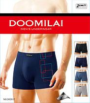 """Мужские боксеры стрейчевые марка """"DOOMILAI"""" Арт.D-02017, фото 3"""