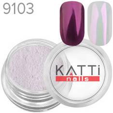 KATTi Пигмент в баночке 3ml Pearl 9103 red, красный перламутр