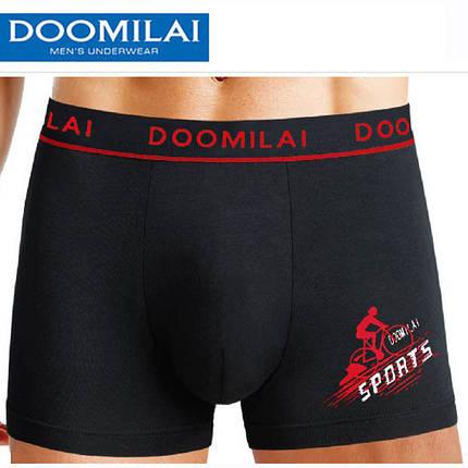 """Мужские боксеры стрейчевые марка """"DOOMILAI"""" Арт.D-02020, фото 2"""