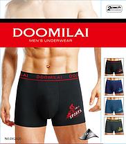 """Мужские боксеры стрейчевые марка """"DOOMILAI"""" Арт.D-02020, фото 3"""