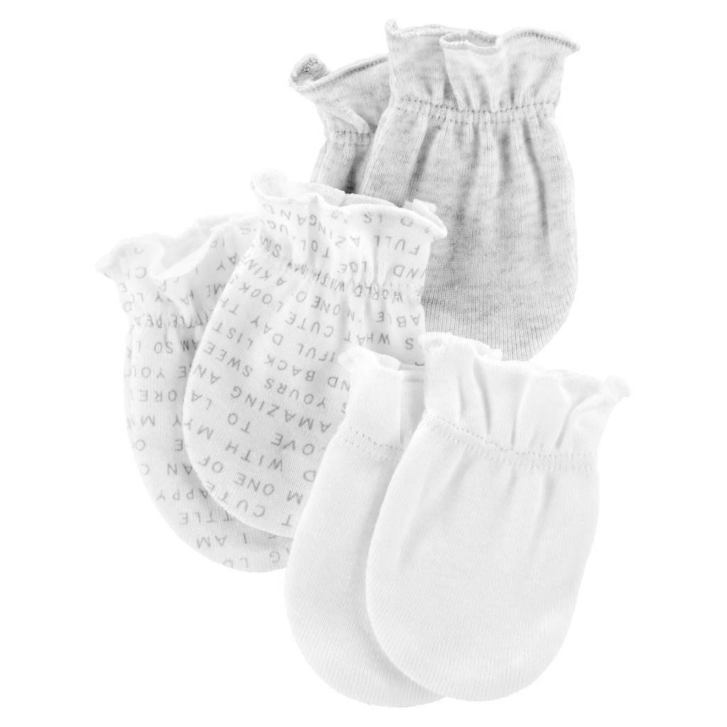 Комплект царапок Carter's для новорожденных (CША)