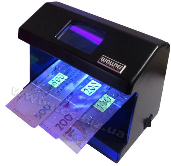 Wallner DL-1011 Детектор валют с лампой Philips
