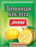"""Лимонна кислота 100г.ТМ""""Ямуна"""""""