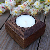 Подсвечник для свечи из дерева