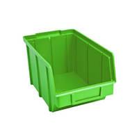 Ящик метизный на стеллаж 701 зеленый 125 145 230