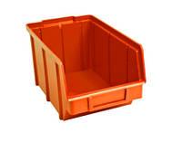 Боксы  для шайб и шурупов 701 оранжевый 125 145 230