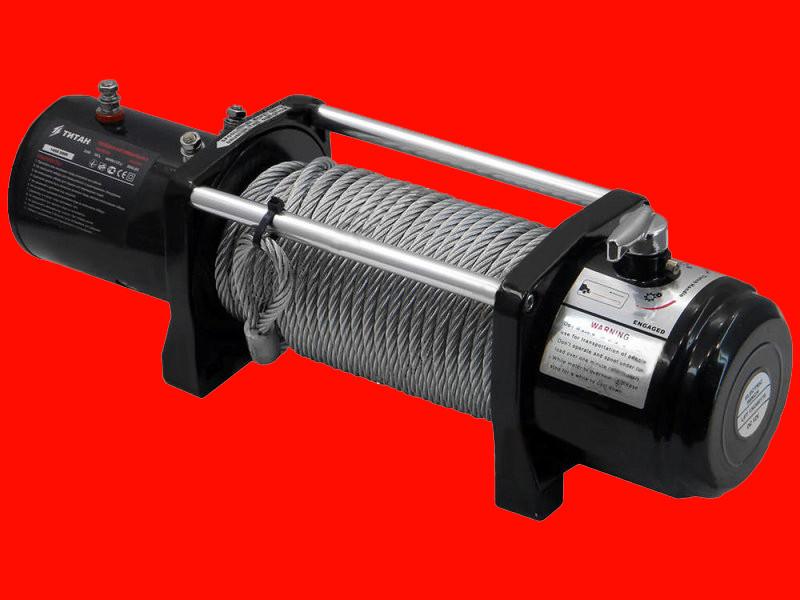 Электрическая автомобильная лебёдка Титан ПАЛ 9500