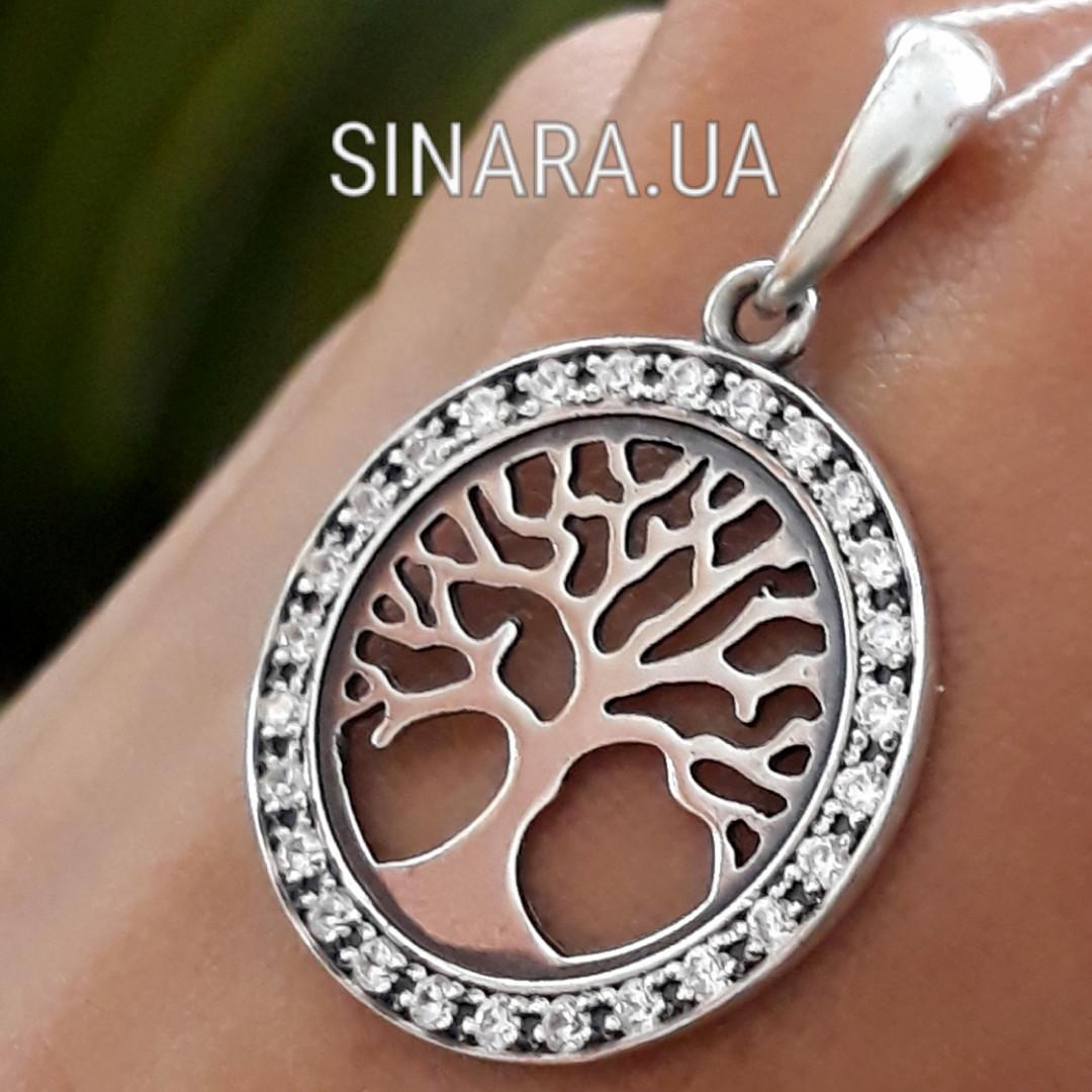 Дерево жизни подвеска серебро - Дерево жизни кулон серебро 925