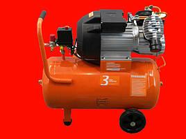 Двухцилиндровый масляный компрессор на 50 литров PATRIOT VX 50-402