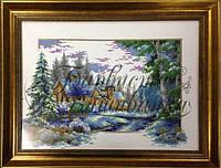Сезоны - Зима схема вышивки бисером